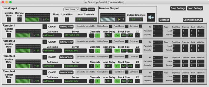 mixer Version - quintet