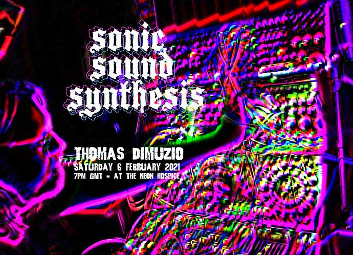 Thomas Dimuzio flyer
