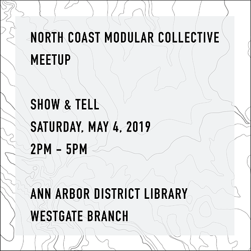 20190504---North-Coast-Modular-Collective-Show-and-Tell---Synth-Meetup