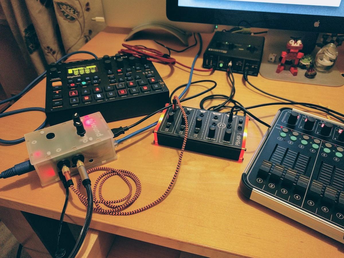 Pisound (Raspberry Pi Audio/MIDI interface) is here