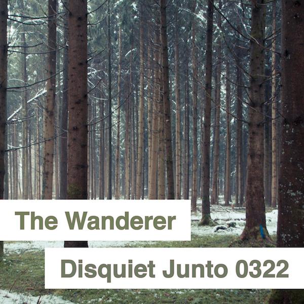 Disquiet Junto Project 0322 The Wanderer Disquiet Junto Lines