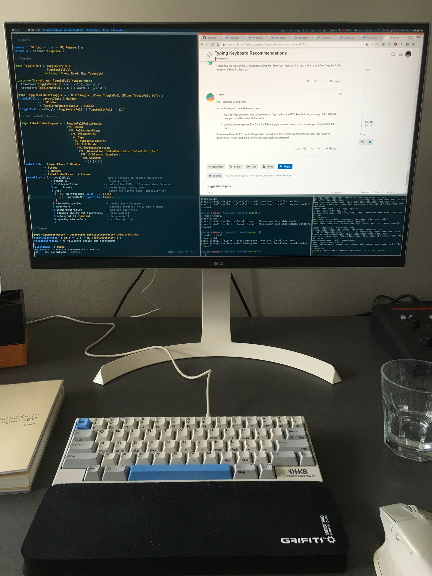 Typing Keyboard Recommendations Equipment Lines