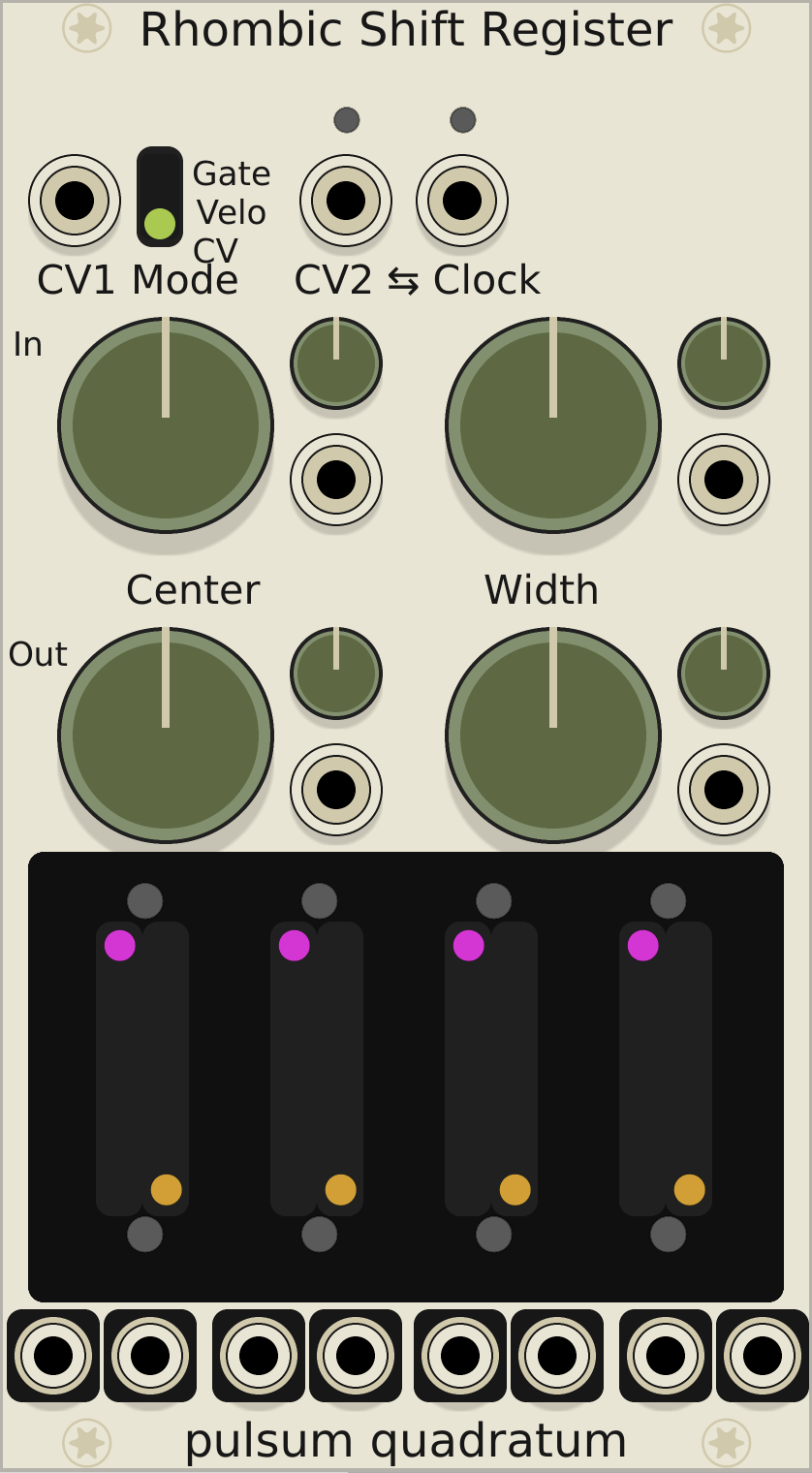 VCVRack virtual modular synthesizer - Equipment - lines