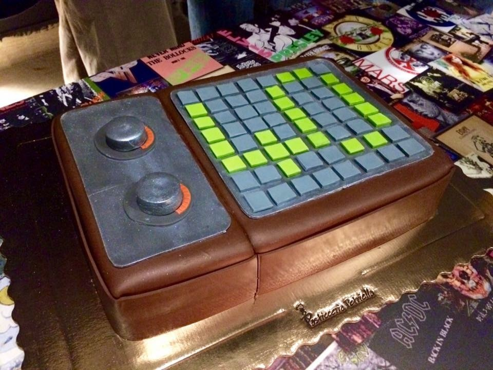 Monome Cake For My Birthday Events Lines