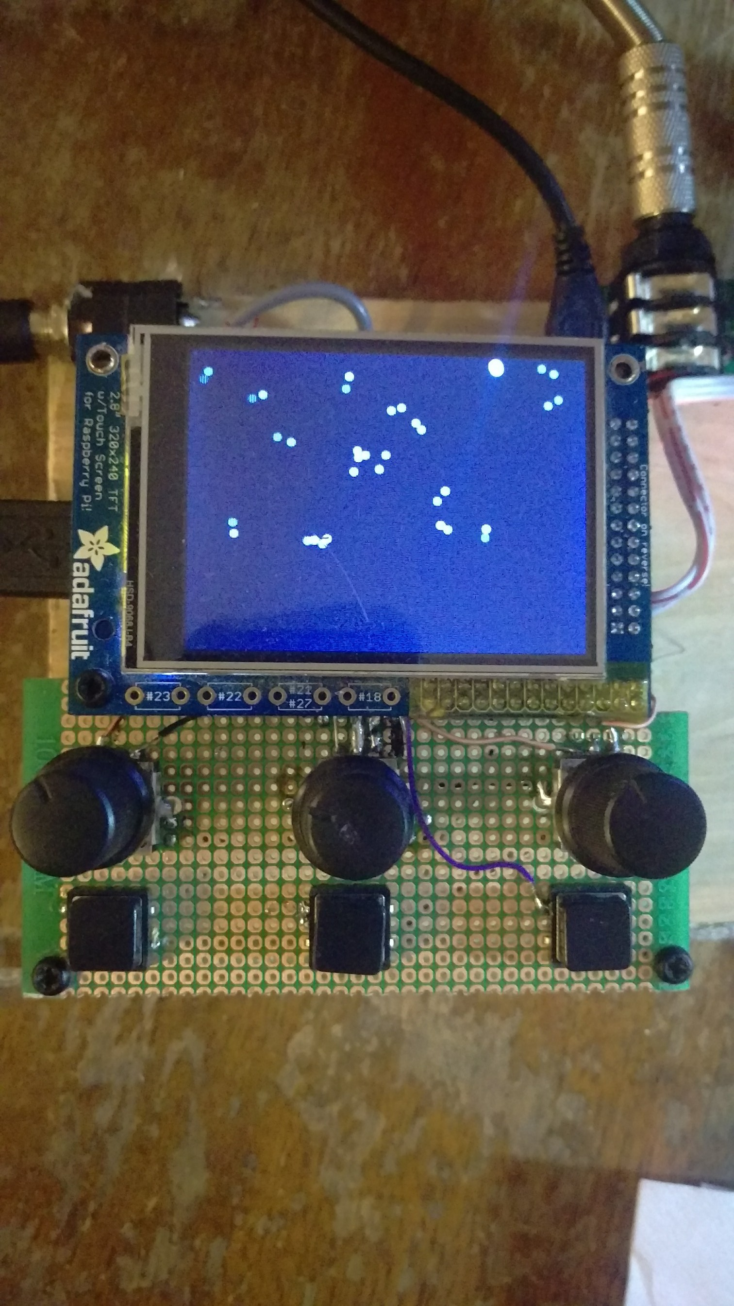 Norns on Raspberry Pi - Development - lines