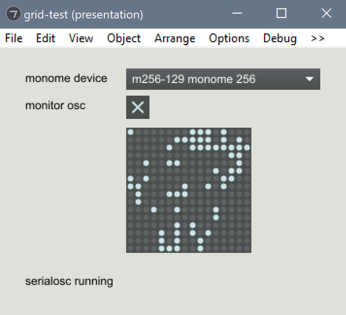Trouble getting monome 256 (2007-2010) working - Monome - lines