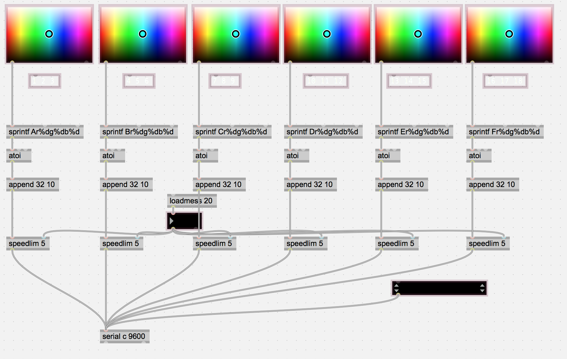 DMX Lighting Control from Ableton / Max - Equipment - lines