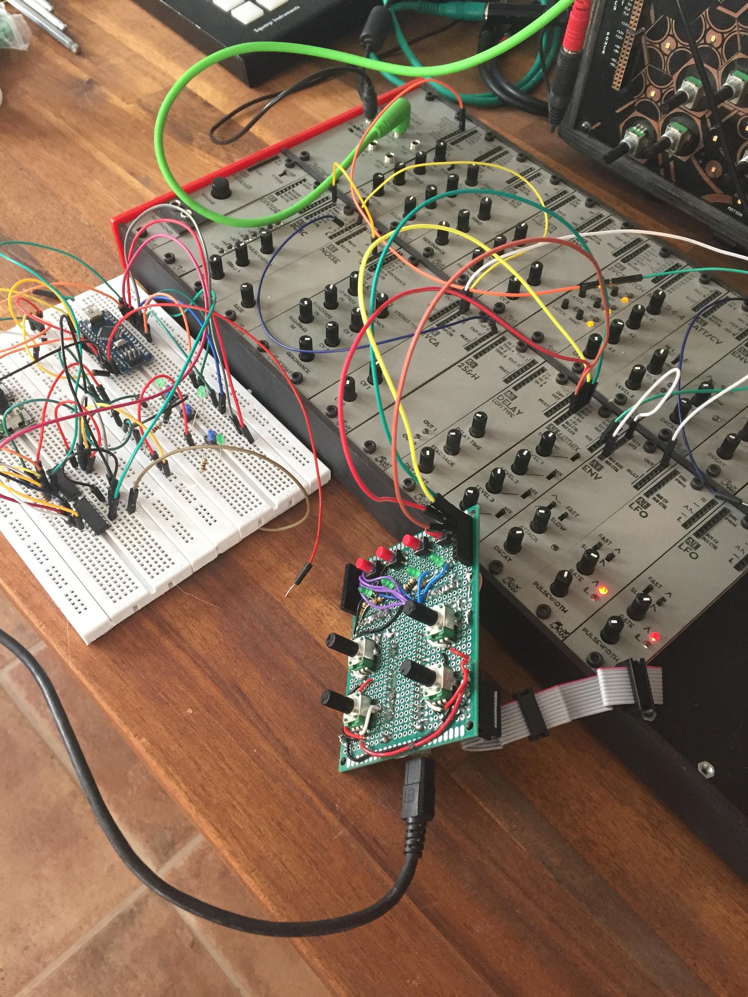 AE Modular: budget analog modular synth - Equipment - lines