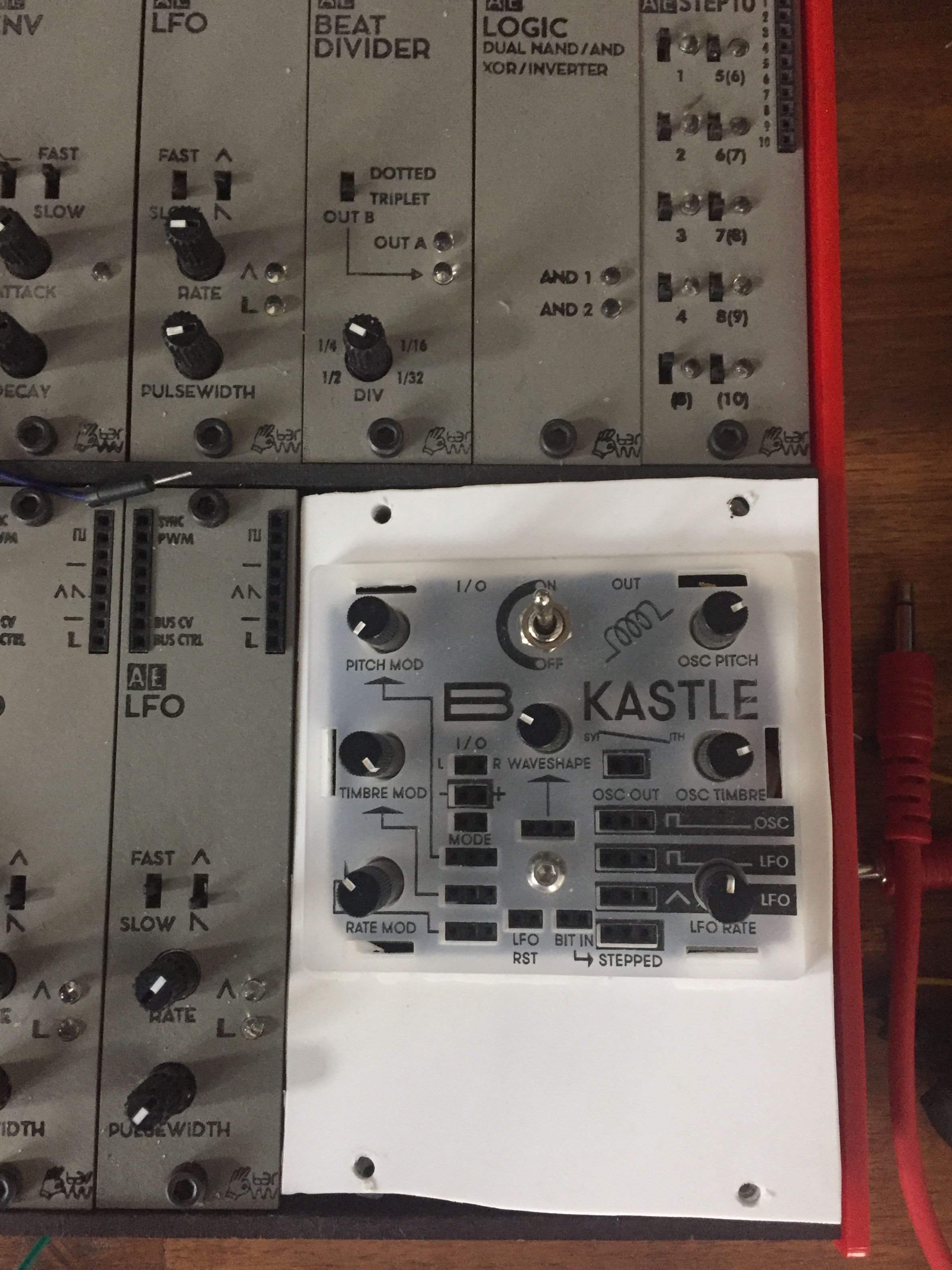 AE Modular: budget analog modular synth - Equipment - lines